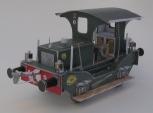 NS 120 ZW S, Kartondan tren maketi resimleri