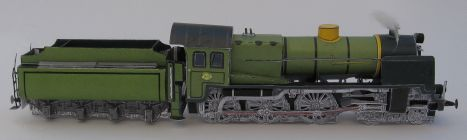 NS 3930 O S, Kartondan tren maketi resimleri