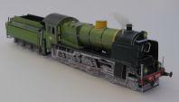 NS 3930 ZO S, Kartondan tren maketi resimleri