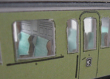 NS C6473 interieur S, Kartondan tren maketi resimleri